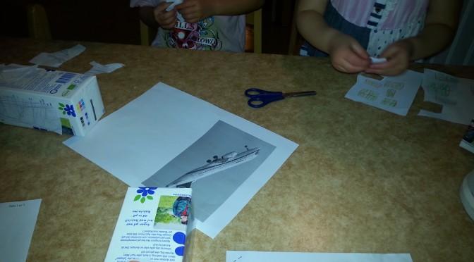 Vi bygger flygplan!