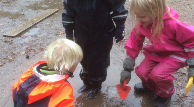 Vi utforskar vattnet
