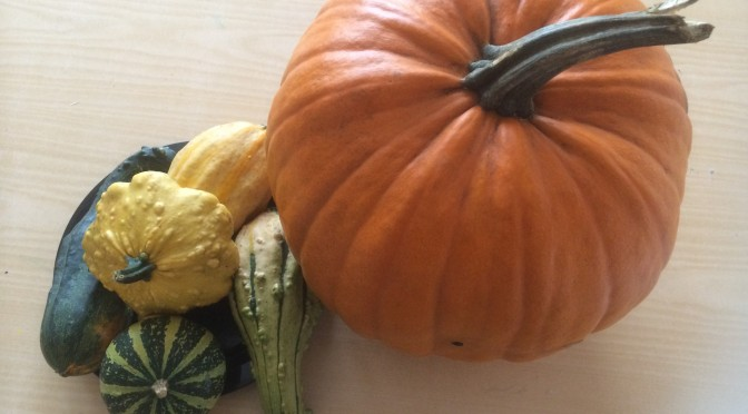Pumpor och halloweenpyssel!