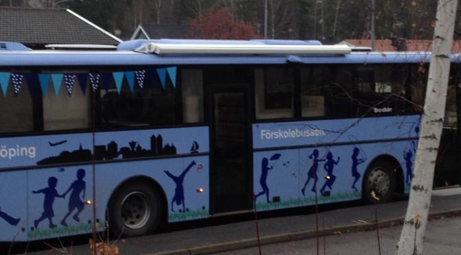 Samarbete med Ekorren och Fjärilens förskola!