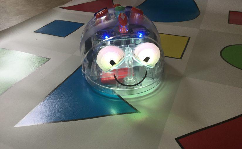 Vi provar vår nya Blue-bot