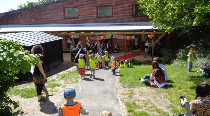 Invigningsfest av Franciscus förskola
