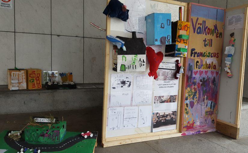 Utställning vid Stadshuset