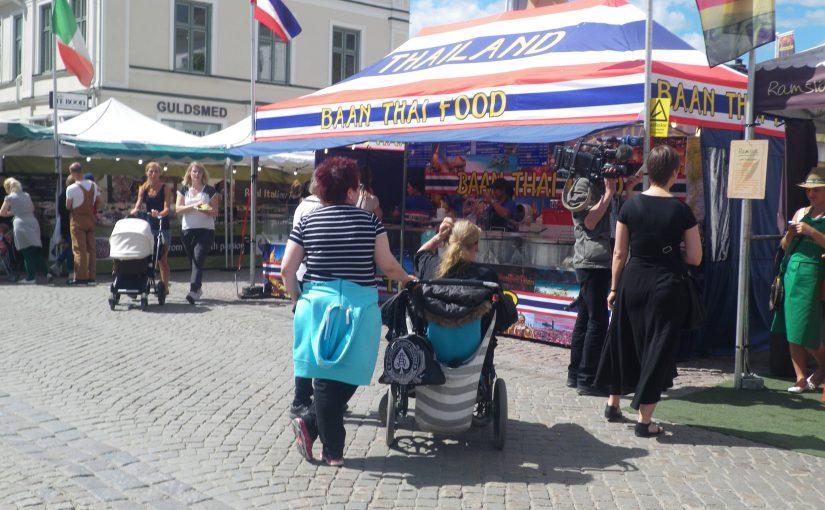 Internationell Food Market.