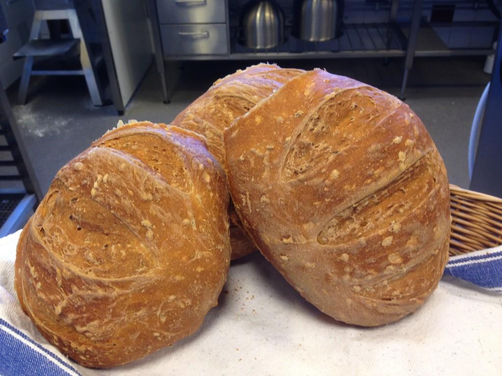 bröd på rågssikt och linfrö