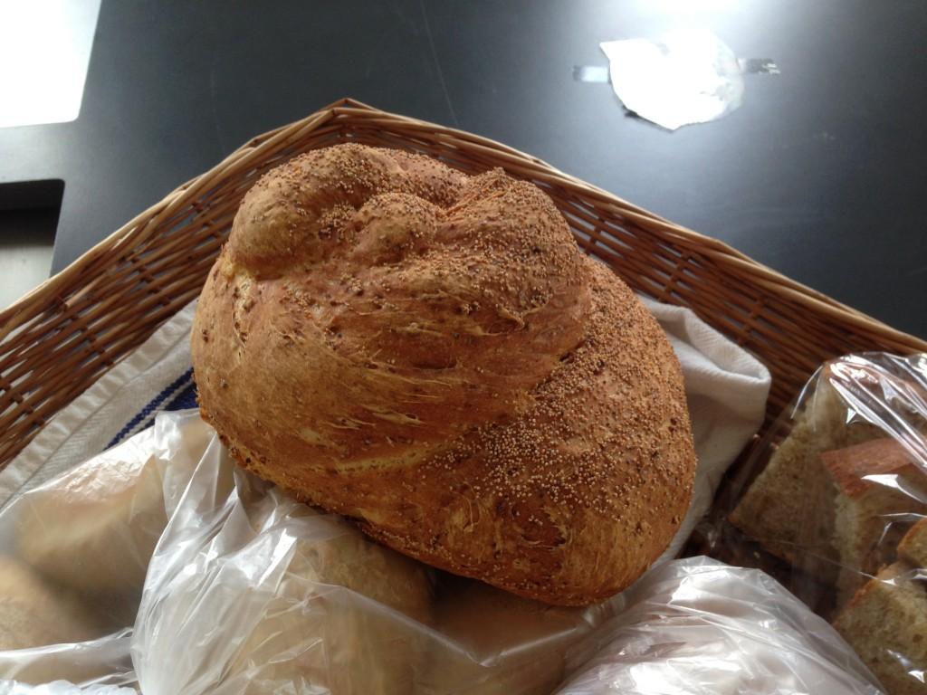 bröd med bulgur och ris