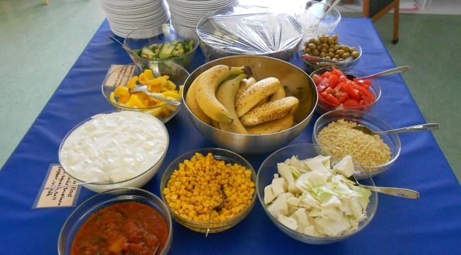 Måndagens lunch på Korvetten