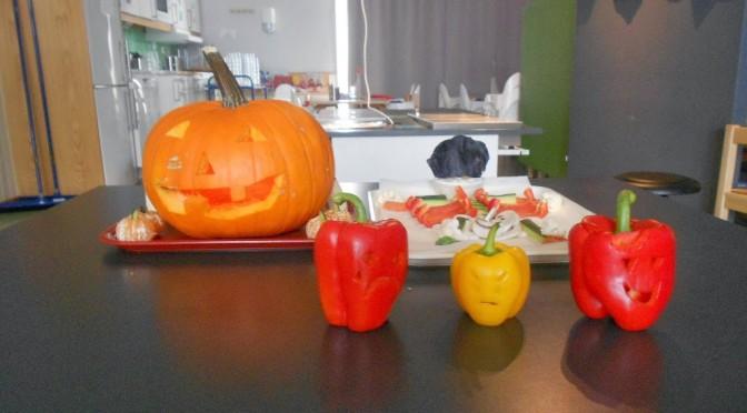 Halloween på Korvettens vis