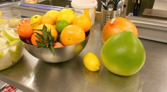 Provsmakning av citrusfrukter, torsdag