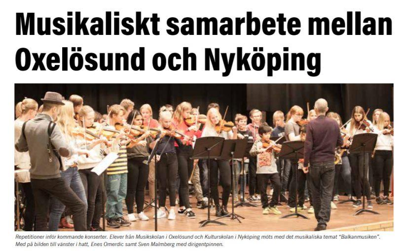 Artikel i tidningen Magasin om vårt balkanprojekt