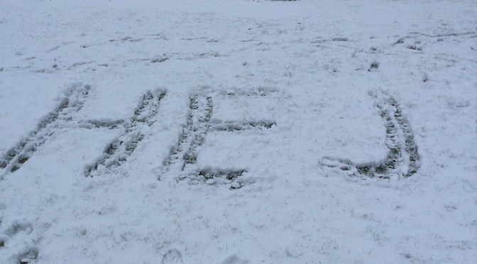 Kul i snön med Piloterna!