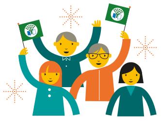 Vi firar Grön Flagg