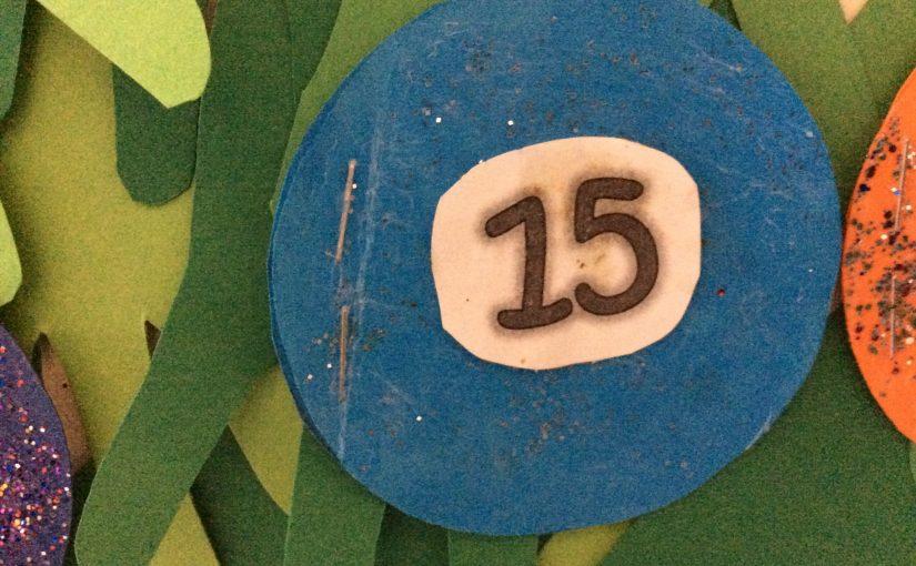 Lejonen öppnar lucka nummer 15!