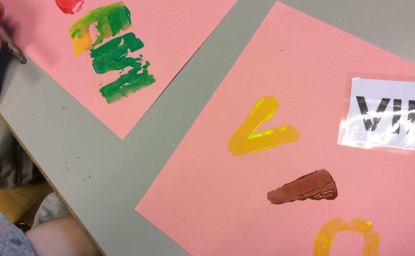 Lejonens bokstavsprojekt fortsätter..