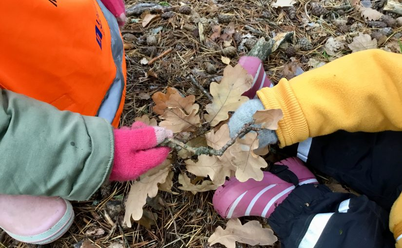Lådbilsbarnen möter hösten