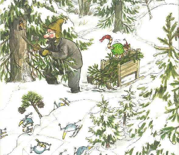 Vi längtar efter snö och julen