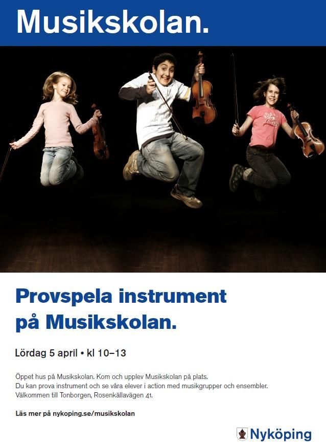 affisch musikskolans ÖH 2014