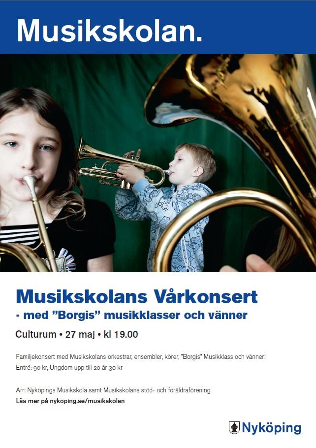 Vårkonsert musikskolan 2014