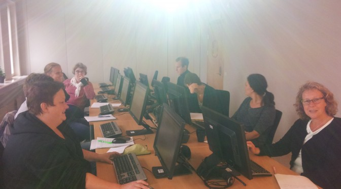Vi lär oss blogga!