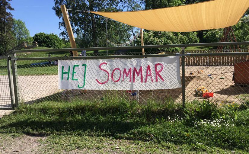Sommarens avslutningsfest på Björken