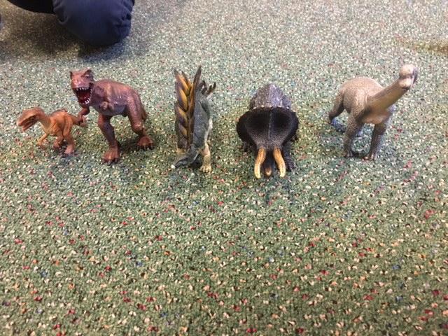 Dinosaurier på Blåbäret