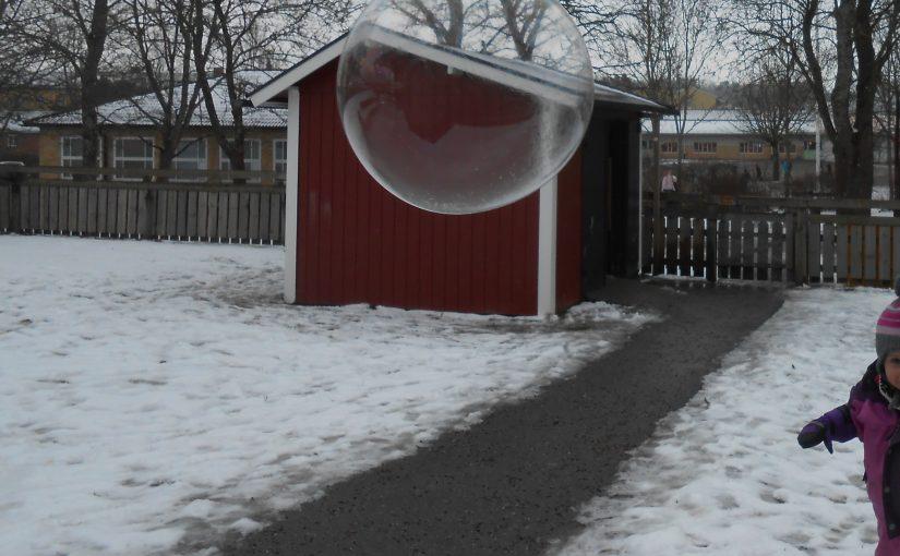 Akvarium och såpbubblor