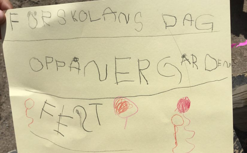 Förskolans dag på Oppånergården