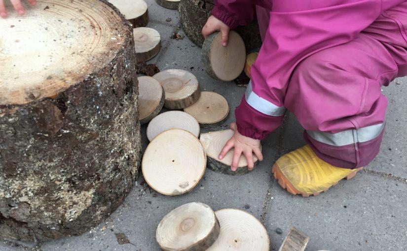 Kreativitet på förskolegården