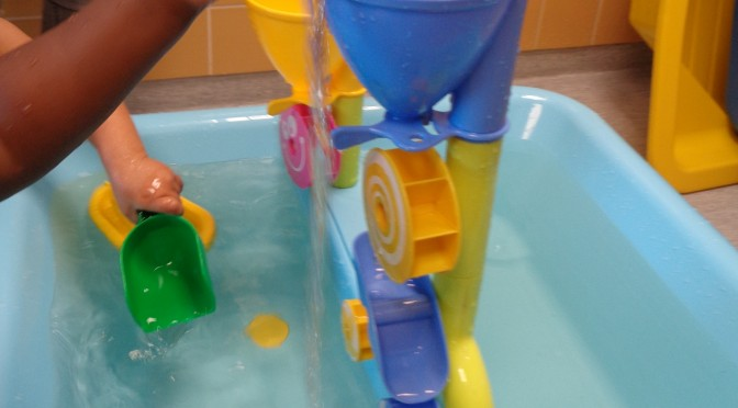 Vatten är kul!