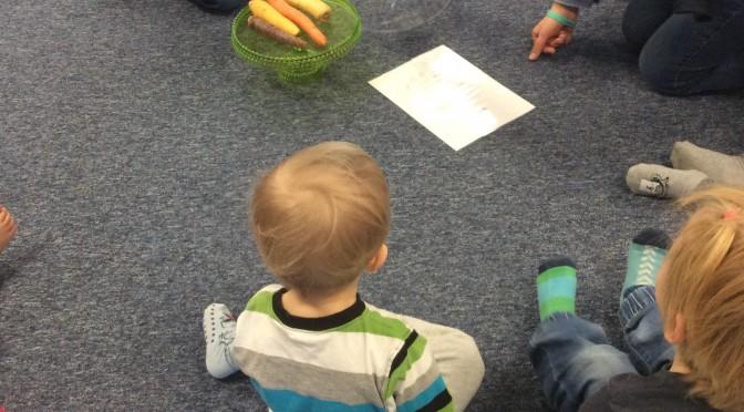 Vi undersöker månadens grönsak.