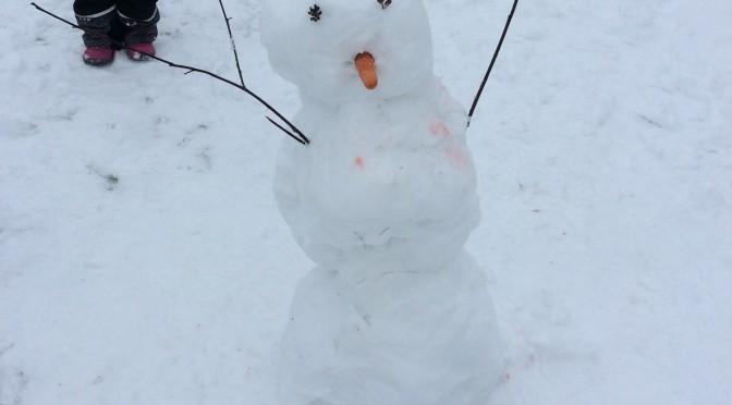 Snögubben Olaf!