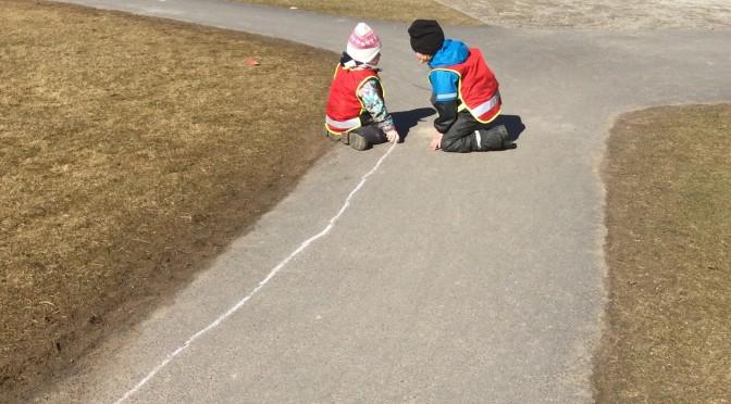 Trafikplanering på gården