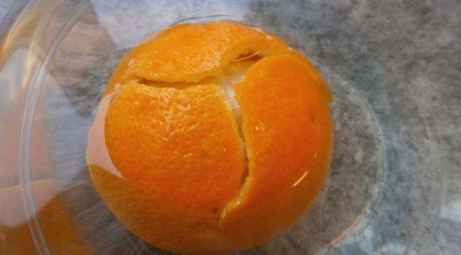 Apelsinen kommer bli sur!