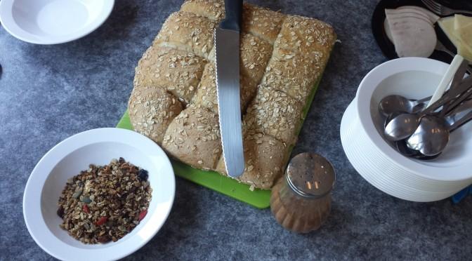 Doften av nybakt bröd!