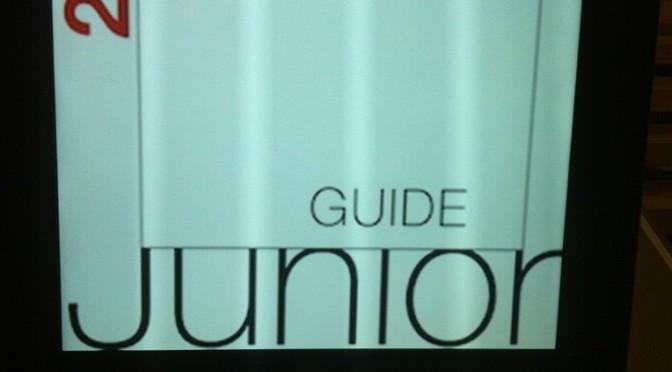 White guide junior!