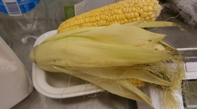 Veckans grönsak är majs.