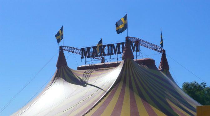 Cirkusen har kommit till stan…