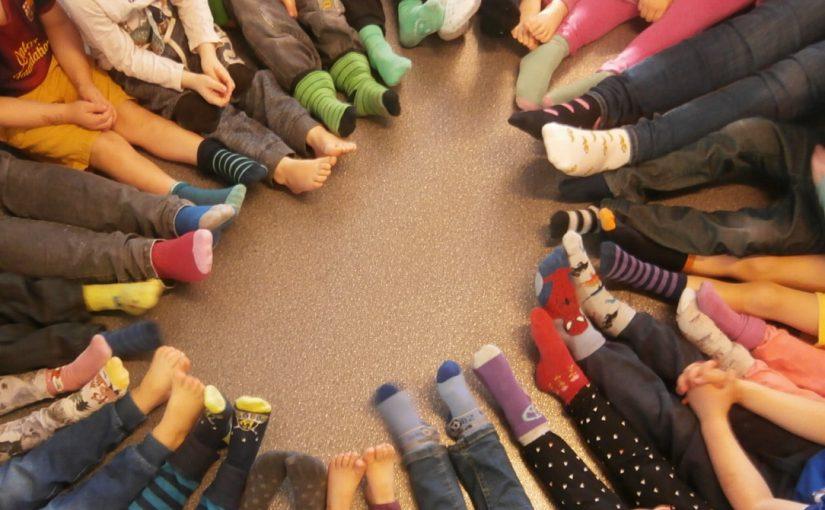 Vi Rockar Socka och skapar sockdjur på Hajen