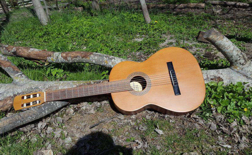 Gitarren flyttar ut!